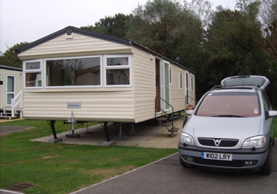 Our holiday Caravan