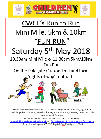 The CWCF Run to Run