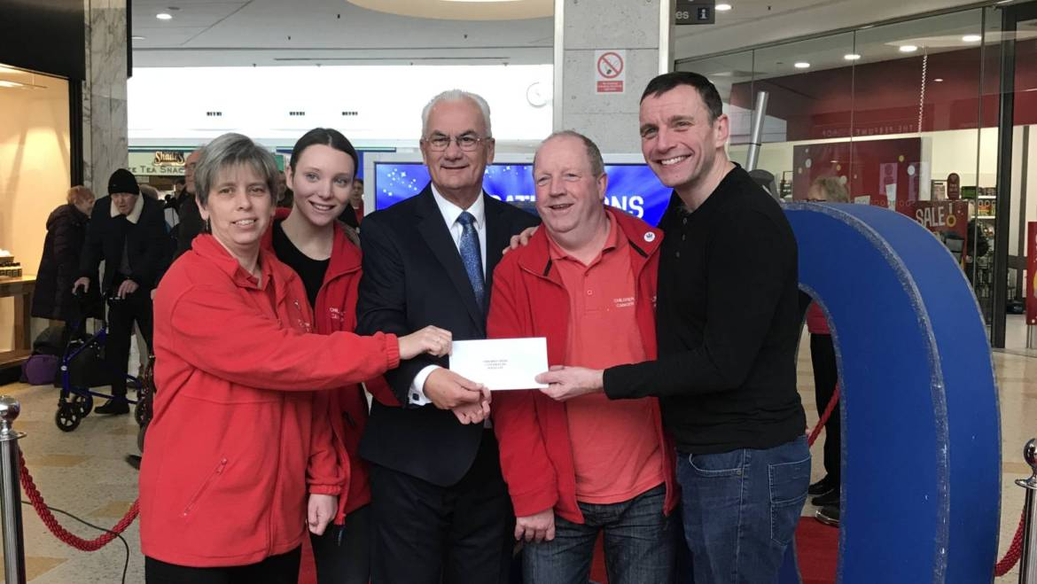 Support from the Beacon Centre Helps us to Raise over £3,700