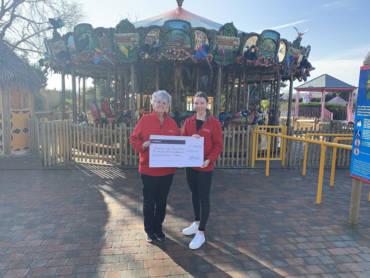 Drusillas Raises over £2370 for Children with Cancer Fund