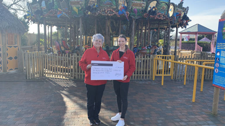 Drusillas Raises over £2370 for Children with Cancer Fund