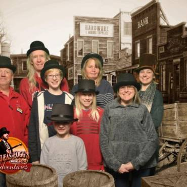 Family Fun at Phileas Fogg's World of Adventures