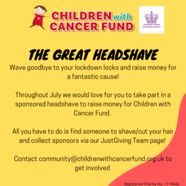 The Great CWCF Head Shave